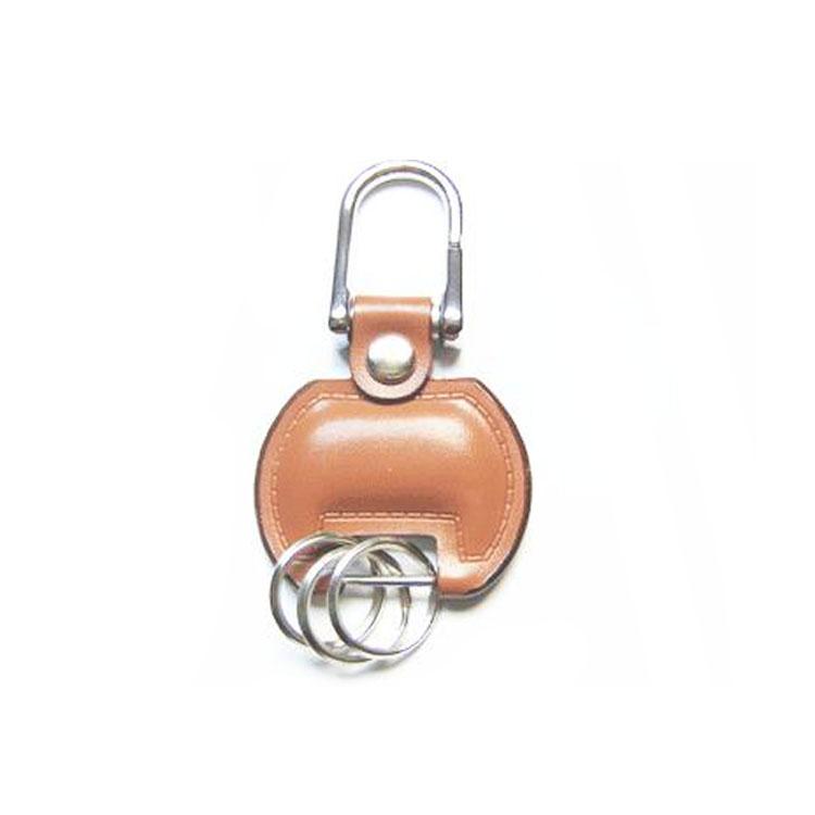 锌合金皮革钥匙扣