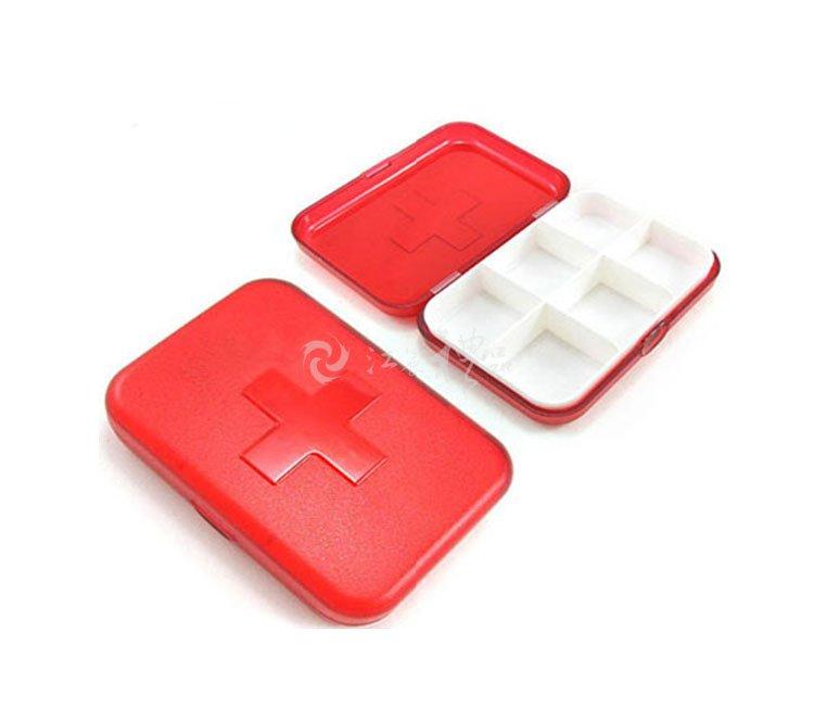 十字六格小药盒